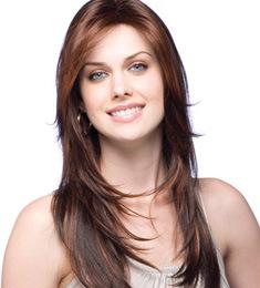 Kanekalon Fibre Long Style Synthetic Hair Wig for European Women