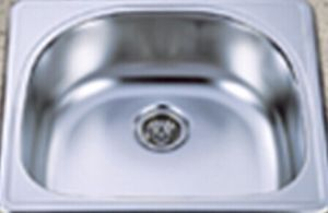 Single Bowl Stainless Steel Kitchen Sink (KTS2522b) pictures & photos