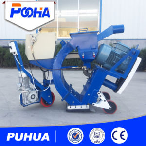 Portable Mobile Type Shot Blasting Machine for Cleaning Airport Runway pictures & photos
