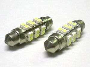 3528 24SMD 12V White Automotive Festoon LED Replacement Bulbs pictures & photos
