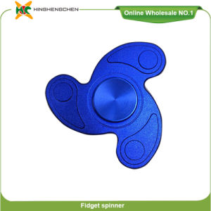 Hot Selling 2017 Made in China Educational Toy Stainless Steel Ball Vision Spinner Finger Spinner Toy pictures & photos