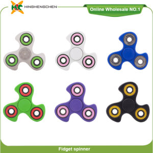 Fidget Spinner Finger Toy Anti-Stress Magnetic Ball Spinner pictures & photos