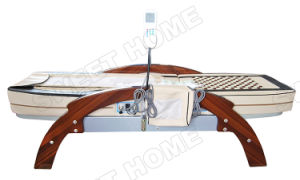 Tourmaline and Jade Mattress Table Massage / Chinese Best Medical Wood Spine Massage Bed pictures & photos