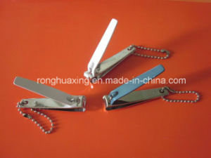 N-608ap FDA Qualified Carbon Steel Nail Clipper with Baking Finish, Ball Chain pictures & photos