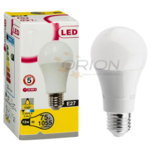 Energy Saving E27 A60 LED Bulb 12W pictures & photos