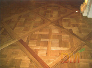 100% French Antique Versailles Parquet Floor Design