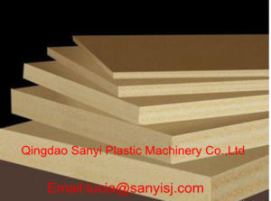 WPC Foam Board for Furniture Making Machine Wood Plastic Composite Board Production Machine pictures & photos