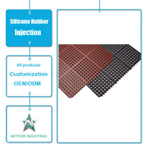 Customized Non Slip Bath Silicone Rubber Mat Injection Tool pictures & photos