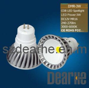 LED Spotlight MR16 (indoor lighting 3W)