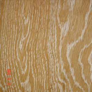 Foshan White Wire Brush Oak Timber Engineered Wood Flooring pictures & photos