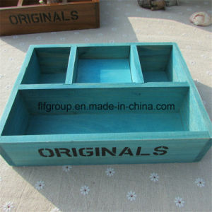 High Quality Natural Wooden Gift Box with Soft Lining pictures & photos
