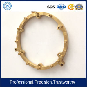Customized Made Brass CNC Machining Precision Turned Parts with Plated pictures & photos