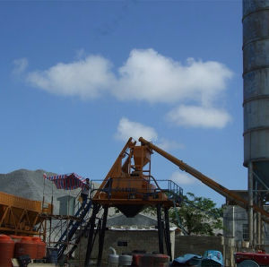 50m³ /H Ready-Mix Stable Concrete Mixing Plant Skip Type pictures & photos