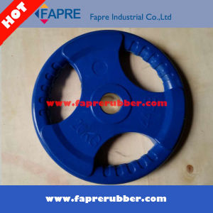 Weight Lifting Rubber Grip Olympic Plate/Fitness Gym Equipment pictures & photos