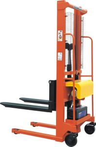 1000kg Semi-Electric Stacker with CE Certificate (JSEM10-16) pictures & photos