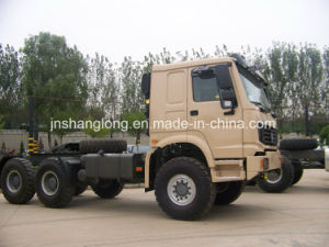 China Brand 336HP Tractor Head Truck with Awd pictures & photos