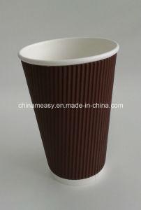 Brown Triple Wall Water Tea Coffee Paper Cup Online Sales