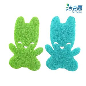 Melamine Scouring Pad of Rabbit pictures & photos
