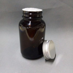 75ml 115ml Amber Vitamin Glass Bottle and Pharmaceutical Bottle for Tablet pictures & photos