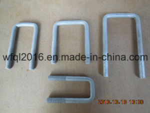 Hot Dipped Galvanized Steel U Bolt pictures & photos