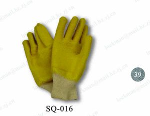 Working Leather Gloves with CE Approval (SQ-016) pictures & photos
