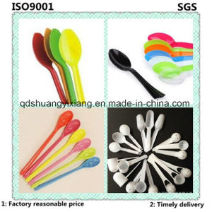 Customized Colourful Plastic Disposable Spoon