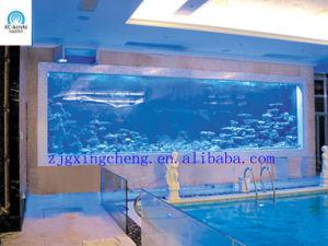 Saltwater Aquarium/Unbreakable Plastic Acrylic/Transparent Flexible Acrylic Sheet pictures & photos
