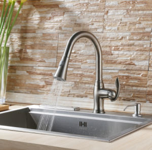 Sanitary Ware Cupc Certificate Pull out Kitchen Sink Faucet pictures & photos
