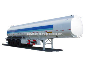 48000L Oil (Fuel) Tanker Trailer with Three Axles (CLY9401GYY) pictures & photos
