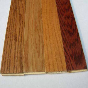 Handscraped Wood Flooring Engineered Oak Floors Wooden Parquet Flooring pictures & photos