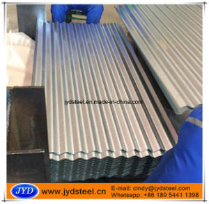 Matte Finish Galvalume Steel Metal Iron Sheet with 11 Waves pictures & photos