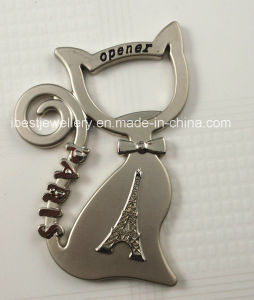 Cat Shaped Fridge Magenet and Bottle Opener pictures & photos