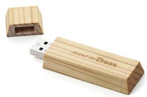 Wooden USB Flash Pen Drive (PZW208) pictures & photos
