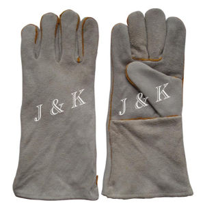 Welding Gloves Leather Working Gloves Industrial Gloves Working Gloves pictures & photos