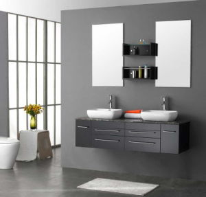 Wall Mounted Bathroom Cabinet Vanity Ware Manufacture (ZH-202) pictures & photos