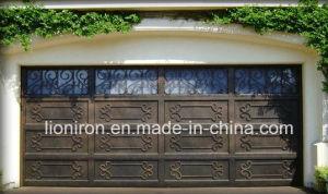 Wholesales Steel Door Wrought Iron Garage Door Design pictures & photos