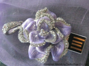 Full Capacity Jewelry USB Flash Memory Drive pictures & photos