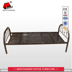 School Furniture Metal Single Bed with Ladder pictures & photos