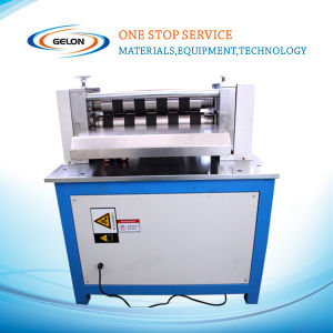 Lab Battery Cutting and Slitting Machine for Electrode pictures & photos