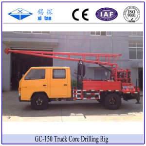 Xitan Gc150 Truck Core Drilling Rig Investigation Spt Water Well pictures & photos