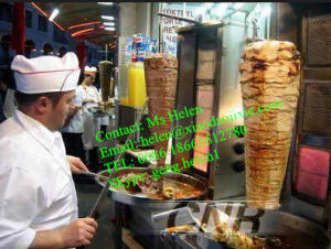 Automatic Rotary Shawama Grill Machine, Doner Kebab Machine pictures & photos