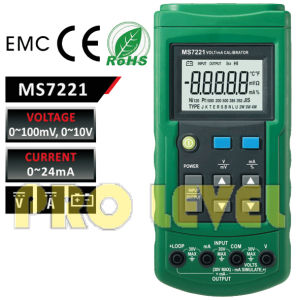 Voltage and Ma Calibrator (MS7221) pictures & photos