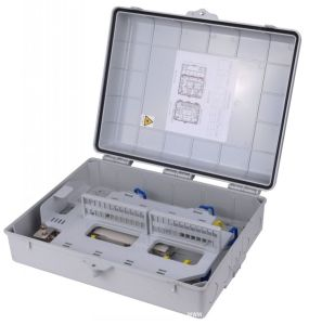Metal 16/32 Cores Inserted Type Fiber Optic Distribution Box pictures & photos