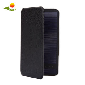 Custom Logo Printing Solar Energy Mobile Power Solar Power Bank 10000mAh pictures & photos