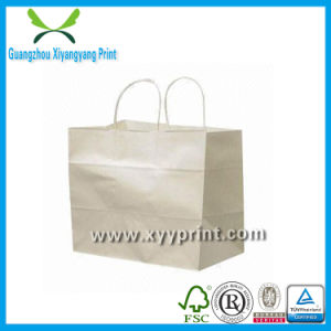 Direct Factory Hot Sale Printed Kraft Paper Shopping Bags pictures & photos