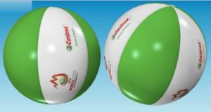 Promotional Clear PVC Inflatable Beach Ball for Playing pictures & photos