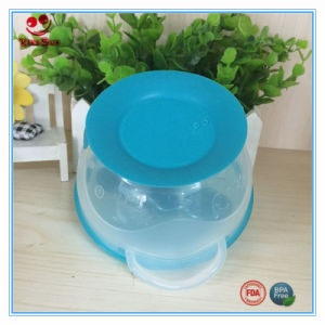 Food Grade Baby Feeding Suction Bowl with Spoon pictures & photos