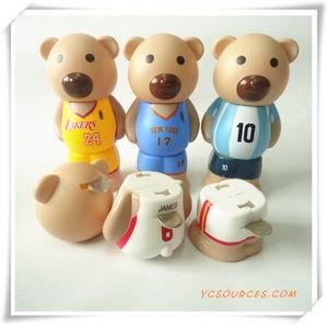 Little Bear Plastic Money Box (HA29002) pictures & photos