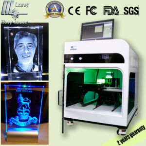 Hsgp-3kc Glass Photo Laser Engraving Machine 3D Laser Machine pictures & photos