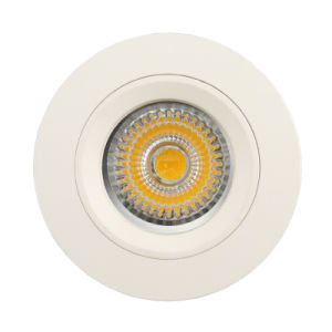 Aluminum Die Casting GU10 MR16 Round Fixed Recessed LED Spotlight (LT1106) pictures & photos